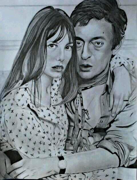 Jane Birkin, Serge Gainsbourg par koala.04